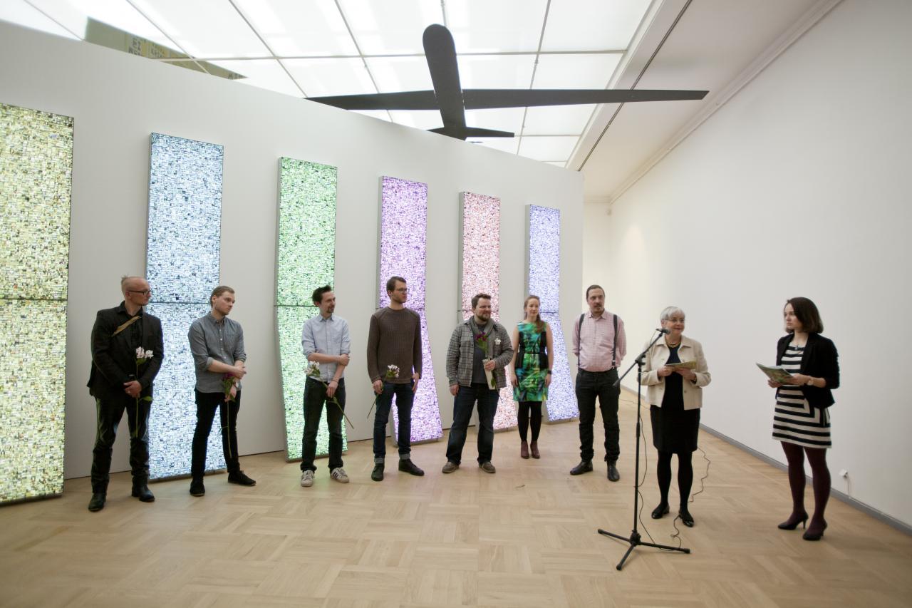 Feierliche Eröffnung der Ausstellung »Global Control and Censorship« in Tallinn