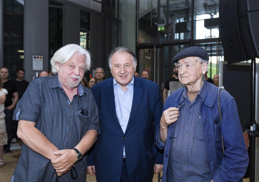 Ausstellungseröffnung von »Jean-Jacques Lebel. The Highest of All the Arts is Insurrection« und »Jonas Mekas. 365 Day Project«