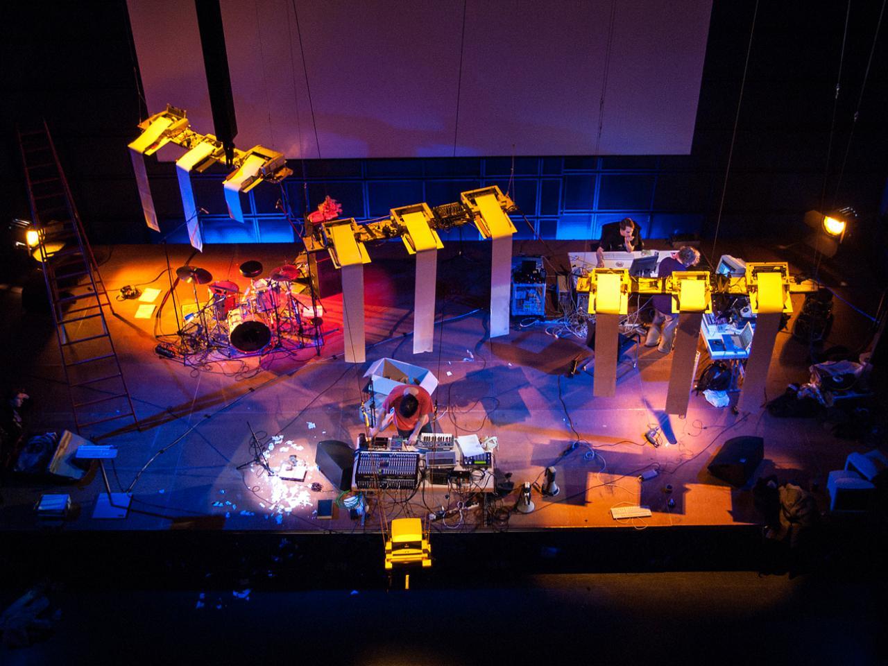 Konzert im ZKM_Medientheater