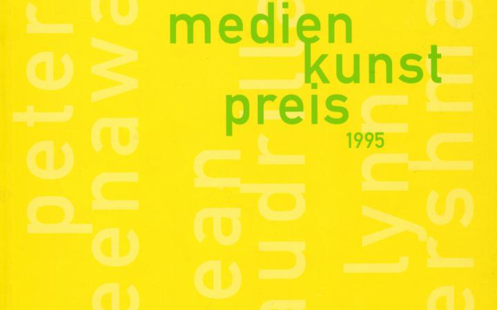Cover of the publication »Siemens Medienkunstpreis 1995«