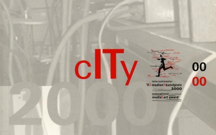 Cover der Publikation »City. Internationaler Medienkunstpreis / International Media Art Award. 2000«