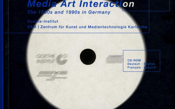 Cover of the publication »Medien Kunst Interaktion«