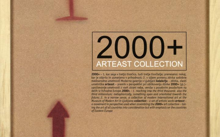 Cover of the publication »2000+ Arteast Collection«