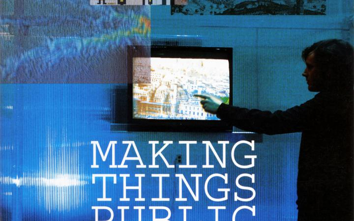 Cover der Publikation »Making Things Public«