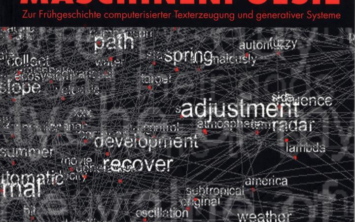 Cover of the publication »Poesiemaschinen. Maschinenpoesie«