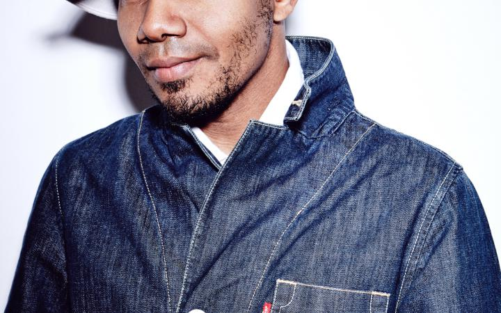 Portrait of DJ Spooky