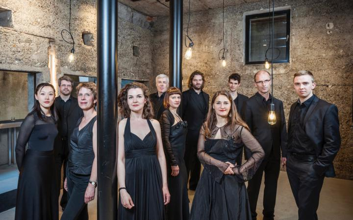 Zu sehen ist das KlangForum aus Heidelberg