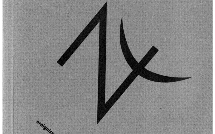 Cover der Zeitschrift »Semiosis«: schwarze Schrift auf grauem Grund