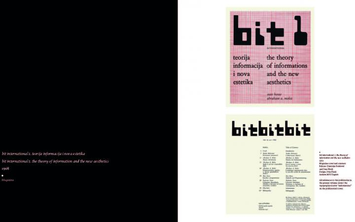 Sample page of the book »A Little-Known Story about a Movement, a Magazine, and the Computer's Arrival in Art«