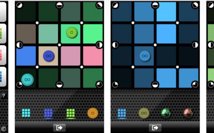 Screenshot of the App »Music Board«