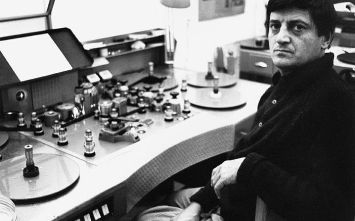 Porträt: Gianfranco Baruchello, 1968