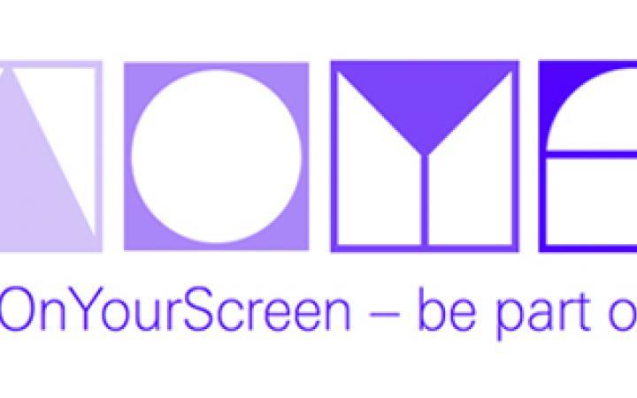 ArtOnYourScreen logo in purple