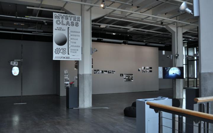Exhibition view »MASTERCLASS 2017«
