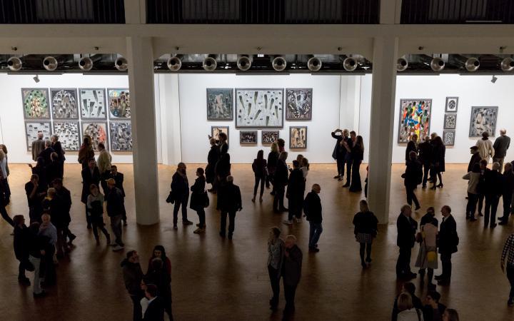 Exhibition opening »Markus Lüpertz. Kunst, die im Wege steht«