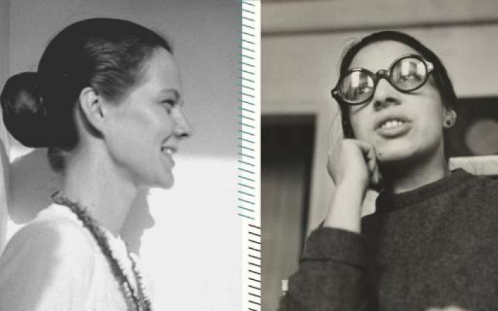 A picture of two women which are representative for the Beat Generation