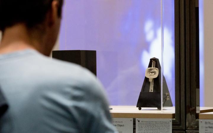 Exhibition view »Art in Motion. 100 Masterpieces with and through Media«