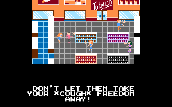 Bild aus dem Videospiel »What Remains« der niederländischen Künstlerin Marloes