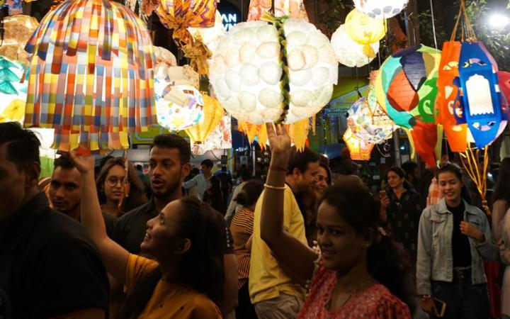 Impressionen vom Kala Ghoda Arts Festival