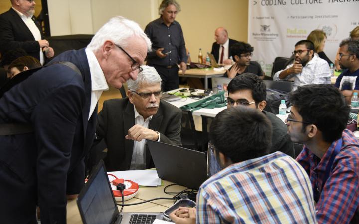 Impressions of the Coding Culture Hackathon in Mumbai