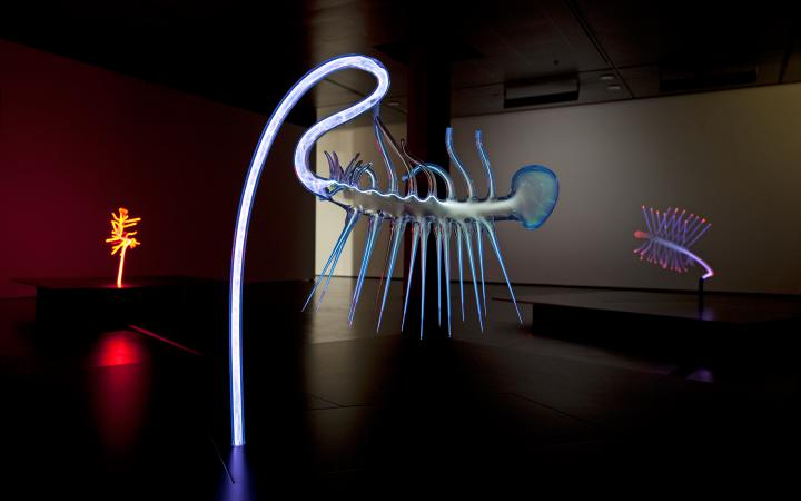 "Exhibition view ""Martin Walde"""
