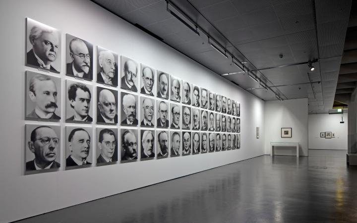 Ausstellungsansicht Atlas