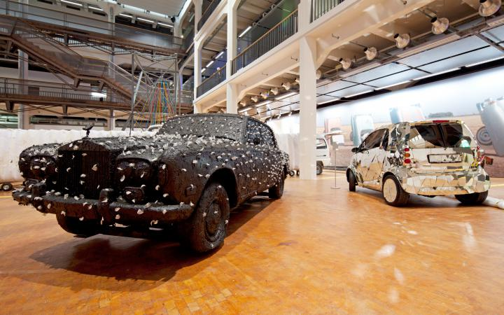 Ausstellungsansicht Car Culture