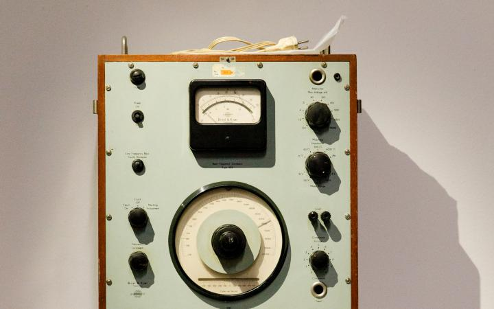 Exhibition view »Through the Soundproof Curtain. The Polish Radio Experimental Studio«