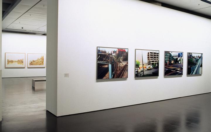 """Ausstellungsansicht """"In Szene gesetzt"""""""
