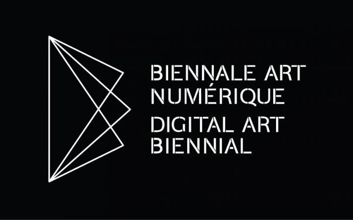 Schrift: Digital Art Biennal Montreal