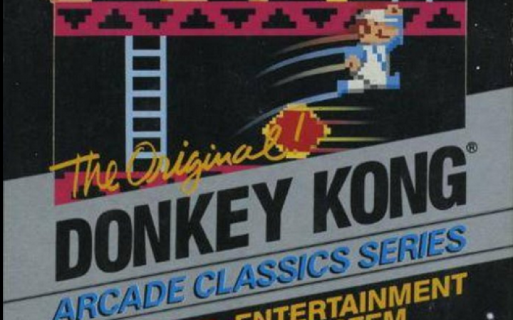 A poster for the game »Donkey Kong«
