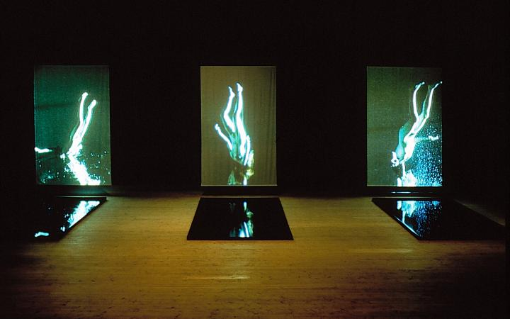 """Ausstellungsansicht """"Bill Viola: Stations"""""""