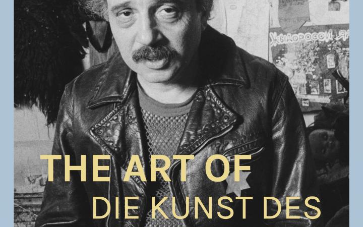 Das Foto zeigt das Plakat des Films »Die Kunst des Boris Lurie«