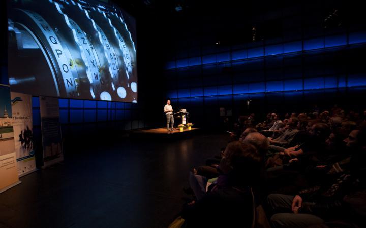 Präsentation im ZKM_Medientheater
