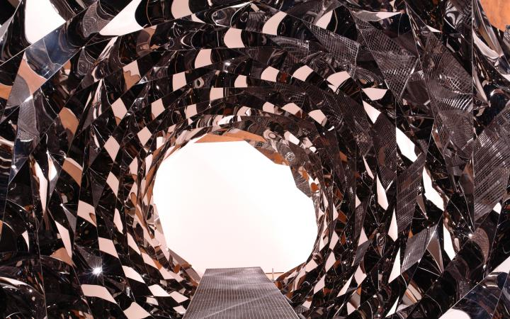 """Exhibition view """"Olafur Eliasson: Your Spiral View"""""""