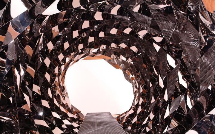 """Ausstellungsansicht """"Olafur Eliasson: Your Spiral View"""""""