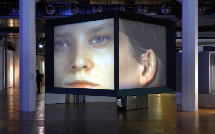 """Ausstellungsansicht """"Future Cinema"""""""