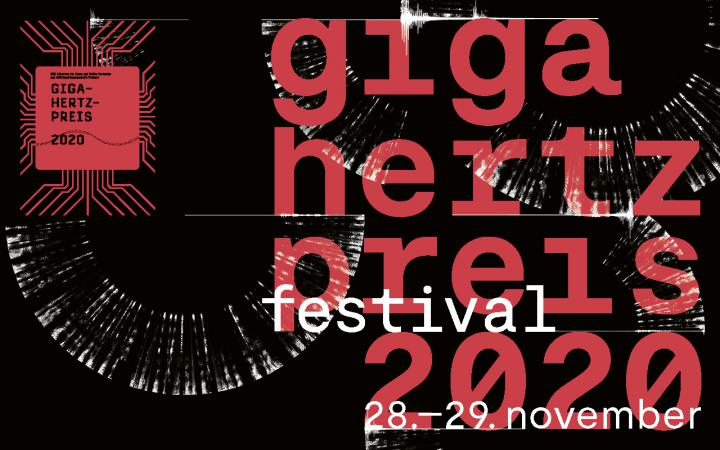 Giga-Hertz Preis Festival 2020 rot auf schwarz