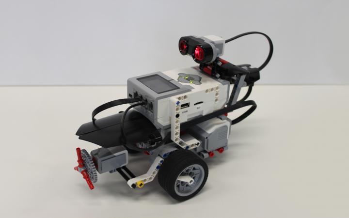 Ein Roboter von Lego Mindstorms