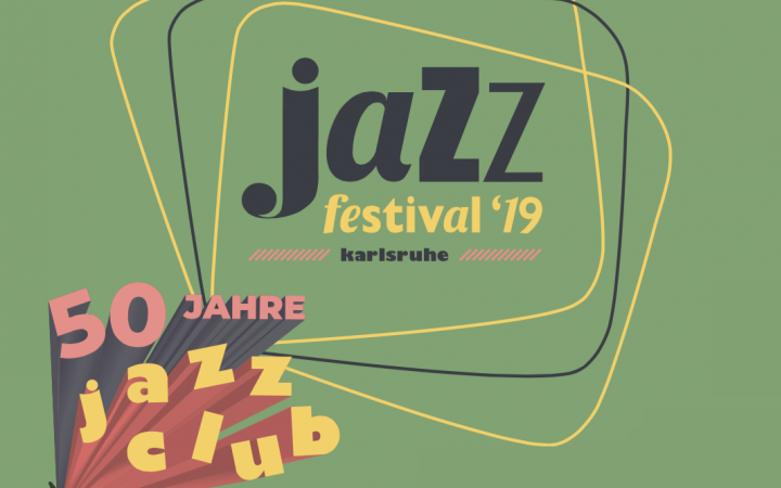Logo des 50 jährigen Jubiläums des Jazz Festivals