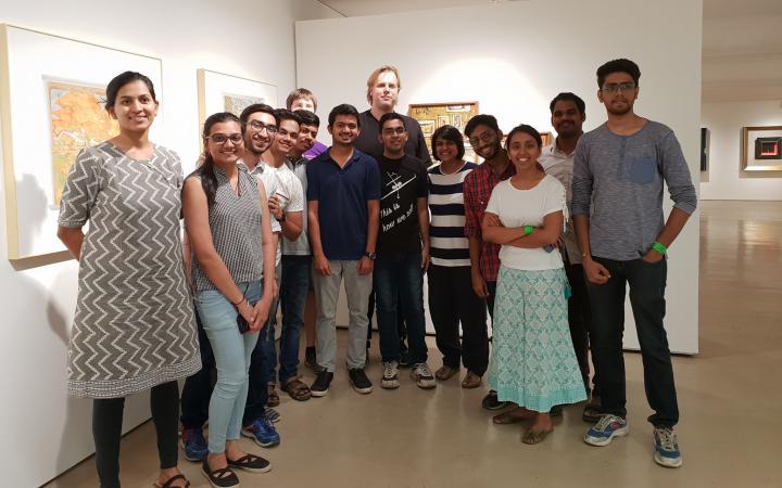 Die TeilnehmerInnen des Coding Culture Hackathon II