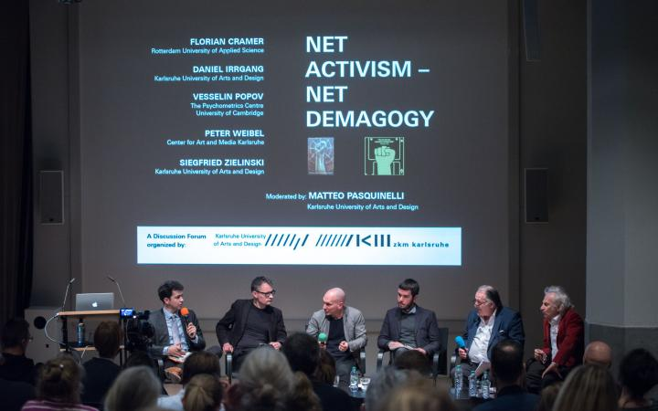 Discussion forum at »Net Activism – Net Demagogy«