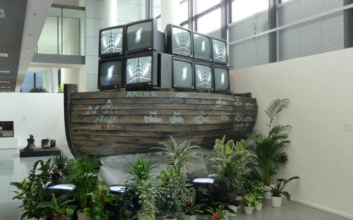 """Exhibition view """"Nam June Paik"""""""