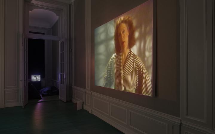 Blick in die Ausstellung »Radical Software. The Raindance Foundation, Media Ecology and Video Art«, West, Den Haag,