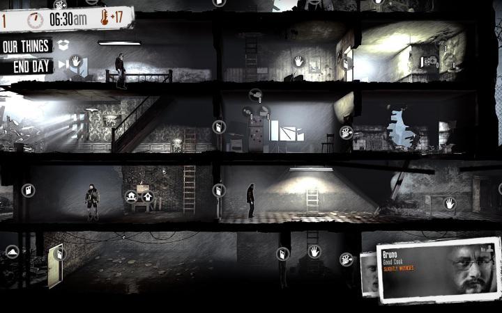 Screenshot von »This War Of Mine«