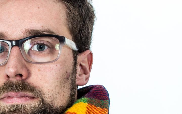 Der Wissenschaftler und Künstler Till Bovermann