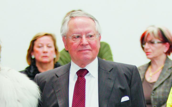 Portrait Friedrich Erwin Rentschler