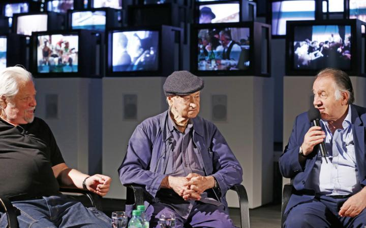 Pressekonferenz zur Ausstellung »Jonas Mekas. 365 Day Project«