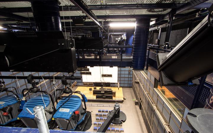 technique at the ZKM_Media Theater