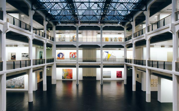 The atrium of the Museum of Contemporary Art