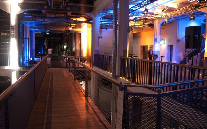Bridge at the ZKM_Music Balcony